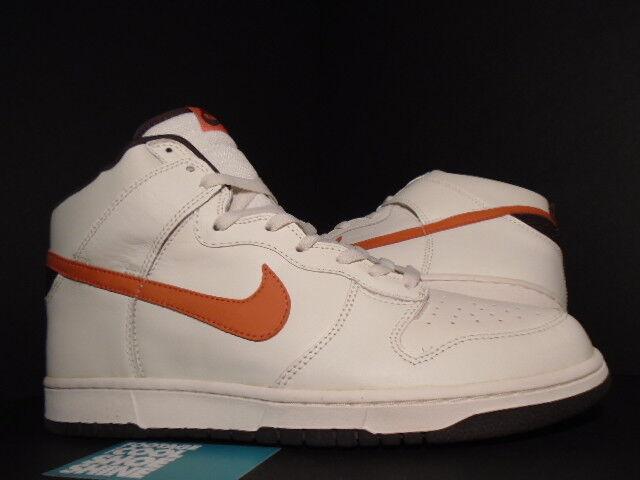 2004 Nike SB DUNK HIGH SAIL ORANGE blanc ORANGE SAIL BLAZE BAROQUE PAUL BROWN 305287-181 13 33fb19