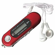 8G USB Flash Drive MP3 Player FM Walkman red ED
