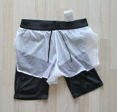 Nike Tech Pack 2in1 Running Shorts Laufhose kurz Grau Gr S,M,L,XL Neu AQ6442 100