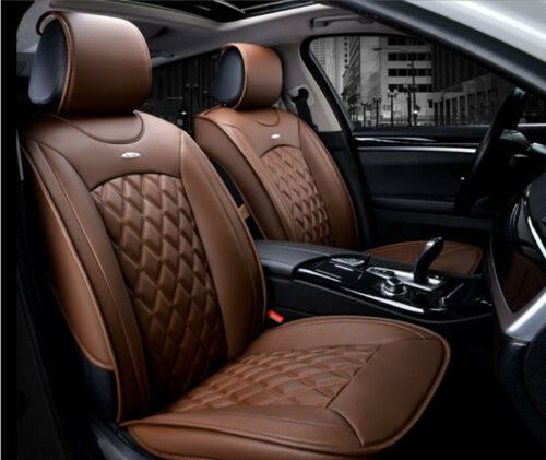 1+1 élégant Siège-auto référence Marron 1191 Sitzbezüge cuir synthétique housses de protection confort