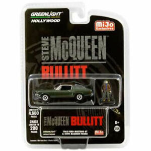 Greenlight-1-64-1968-Ford-Mustang-GT-with-Steve-McQueen-Figure