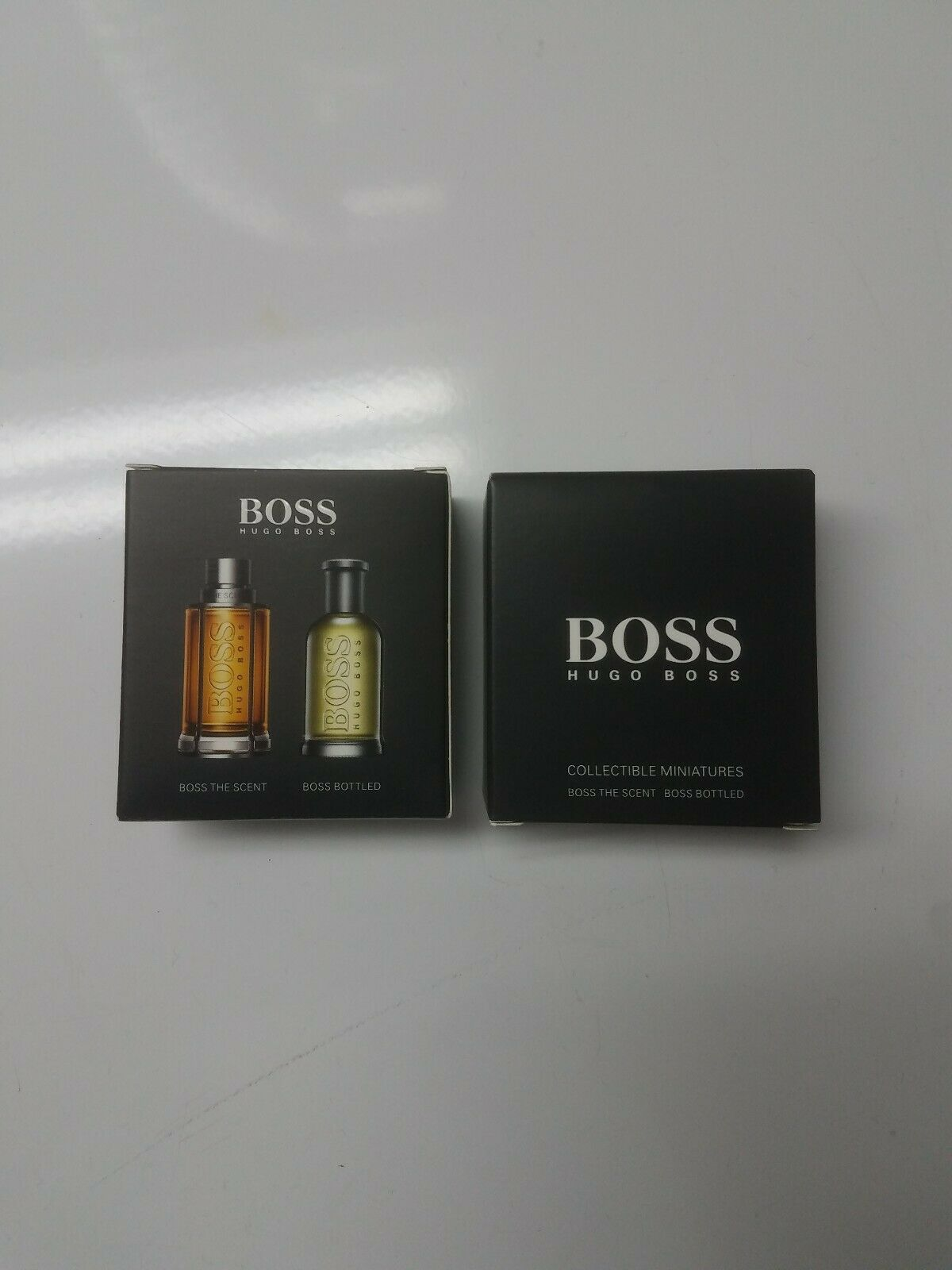 hugo boss miniatures