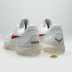 Detalles de Nike AIR ZOOM CAGE 3 HC Rafa Nadal Tenis Zapatos | UK 7 EU 41 nos 8 | 918193 103 ver título original
