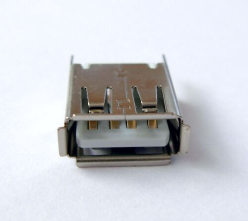 Connecteur à souder USB type A femelle Female USB 2.0 connector to solder