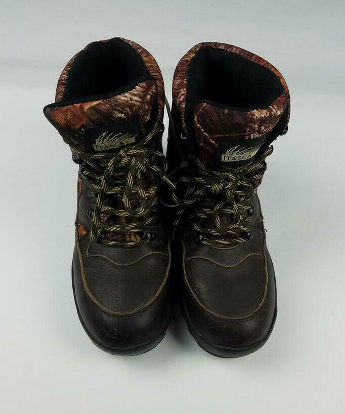 Itasca Camo Hunting Boots - Size 6