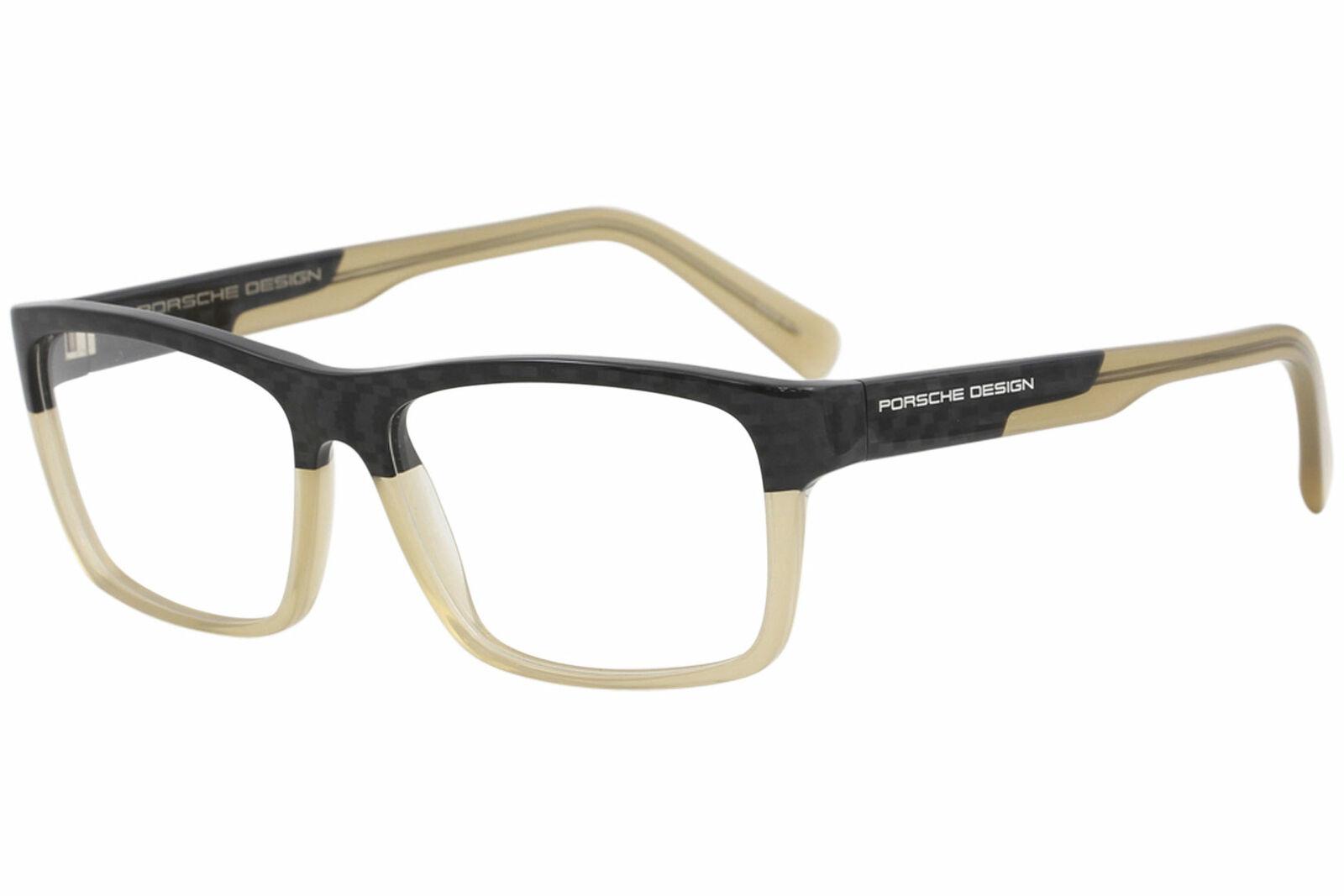 NEW Porsche Design P8286 D 56mm Satin Palladium Grey Optical Eyeglasses Frames