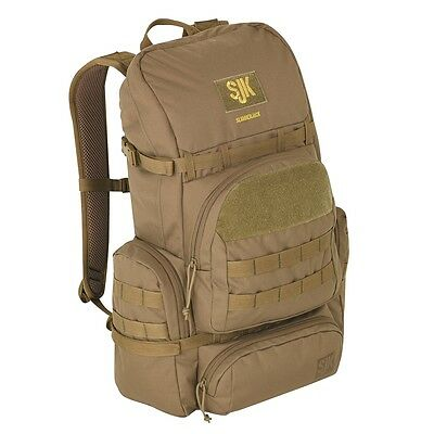 Slumberjack Strider Multi-Use Lightweight Coyote Brown Backpack Day Pack - New