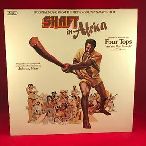 JOHNNY-PATE-Shaft-In-Africa-Original-Soundtrack-1973-UK-Vinyl-LP-EXCELLENT-COND