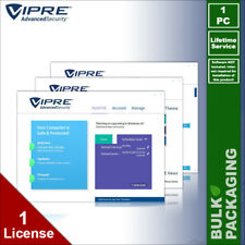 VIPRE Advanced Security Antivirus - 1 PC - LIFETIME License