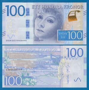 Combine FREE! 2017 Norway 100 Kroner P 54 2016 UNC Low Shipping