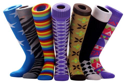 SAMSON® NOVELTY KNEE HIGH FOOTBALL SOCKS CARTOON SPORT FUNNY GIFT KIDS FUNKY