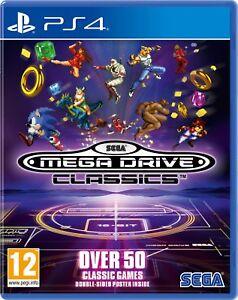 SEGA-Mega-Drive-Classics-PS4-New-amp-Sealed-UK-PAL-Free-UK-Postage