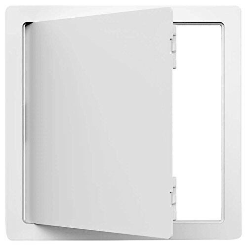 18  x 18  Removable Snap Latches Hinged Plastic Wall Ceiling Access Panel Door