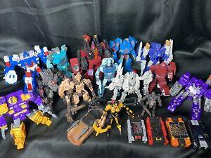 Transformers Huge Lot Siege, Kingdom, Studio Series, Titans Return