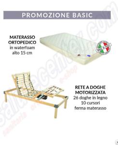 Relax Materassi Fermo.Dettagli Su Rete Elettrica Relax Go 500 Materasso Ortopedico In Poliuretano Alto 15cm