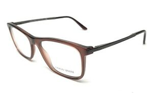 fe3d52fde4d NEW GIORGIO ARMANI AR 7087 5438 BROWN EYEGLASSES AUTHENTIC FRAME 52 ...