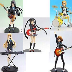K-On-Sq-Figura-5pcs-Juego-Yui-Mio-Ritsu-Tsumugi-Azusa-Banpresto-Japon