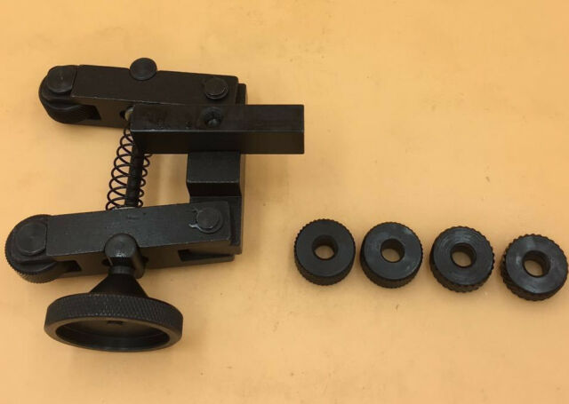 KNURLING TOOL HOLDER-ADJUSTABLE-SPRING-With 6pcs wheel