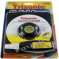 Cd/dvd Vcd Blu-ray & Video Game Disk Cleaner Kit Wet Or Dry