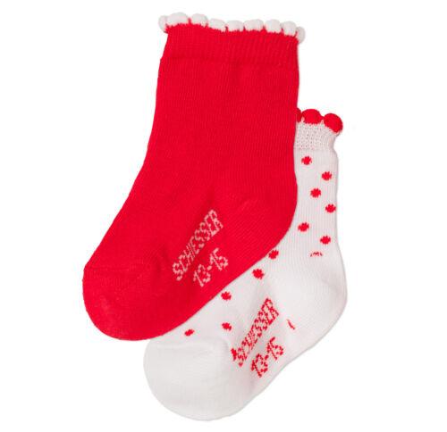 13-15 16-18 Socken NEU SCHIESSER Babysocken Babysöckchen 2er Pack Gr.10-12
