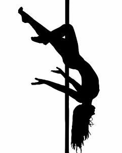 Sexy girl pole dance