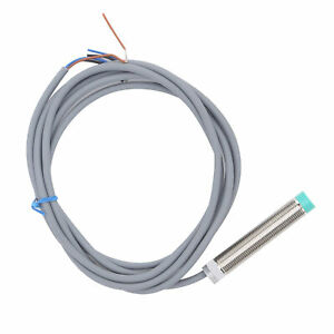 Proximity Switch Cylindrical Shaped 3‑Wire PNP Normally Closed Sensor 10‑30VDC