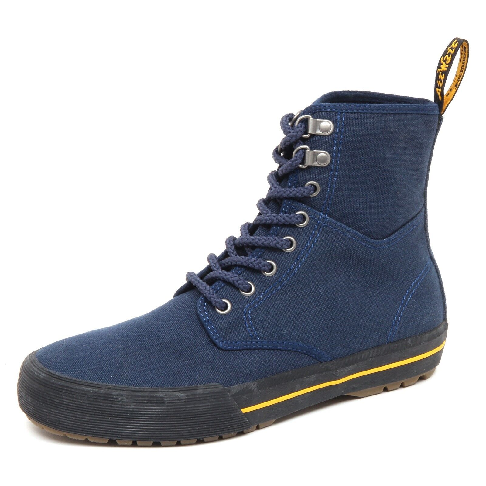 D8220 (without box) sneaker uomo blu DR. MARTENS canvas shoe boot man