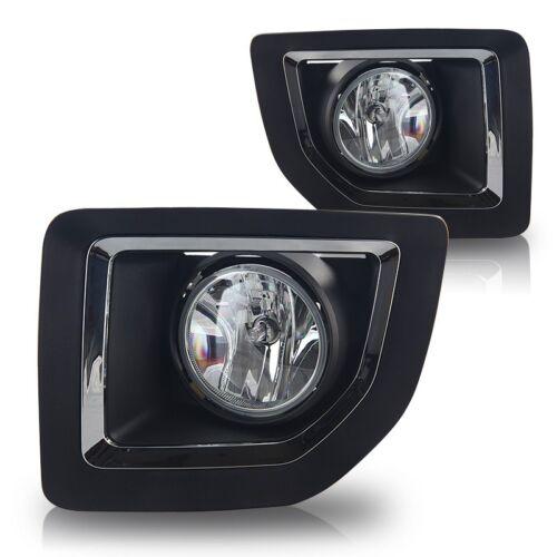 Clear 2015-2016 GMC Sierra 2500 Fog Light Bumper Lamp w//Wiring Kit