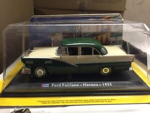 DIE-CAST-034-FORD-FAIRLANE-HAVANA-1955-034-1-43-TAXI-COLLECTION-SCALA-1-43