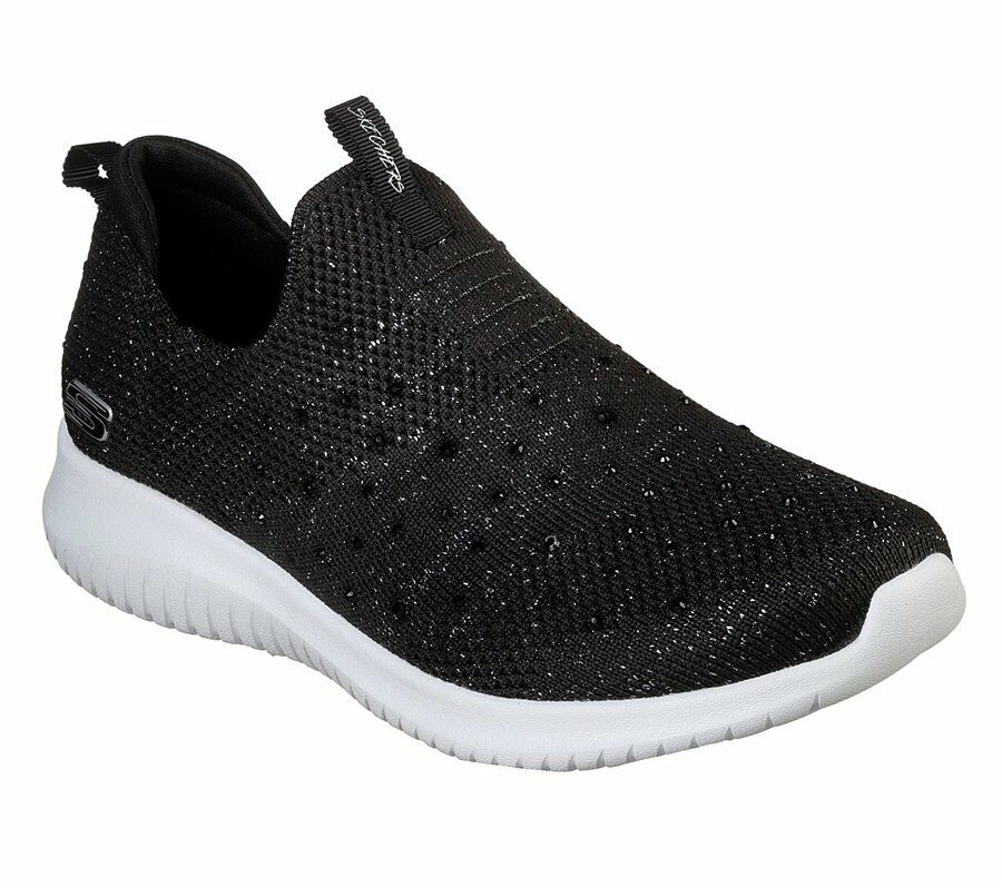 SKECHERS 13113 BKSL NERO ULTRA FLEX THRIVE UP scarpe donna sportive memory foam