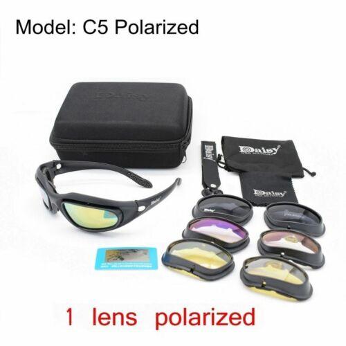 Military Goggles UV400 Tactical Army Sunglasses 4 Lens Men Shooting Eyewear