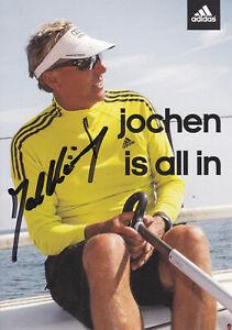 Jochen SCHÜMANN - Deutschland, Gold Olympia 1976 Segeln, Original-Autogramm!