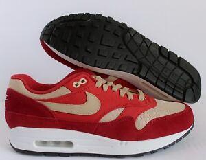 Atmos Nike Air Max 1 Tough RedMushroom Rush Red
