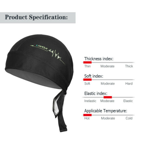 Outdoor Cycling Adjustable Headwrap Breathable Quick-dry Bicycle Headband G7E4
