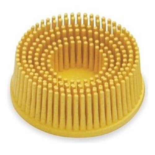 3M 07527 Roloc Bristle Disc 3 80 Grade-Yellow