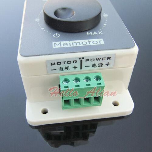Waterproof 10V-60V 12V 24V 36V 48V 20A PWM DC Motor Speed Controller Regulator