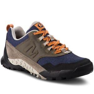 e1f32404999bc6 Das Bild wird geladen Merrell-Annex-Recruit-Outdoorschuhe -Trekkingschuhe-Sneaker-Herren-Schuhe-