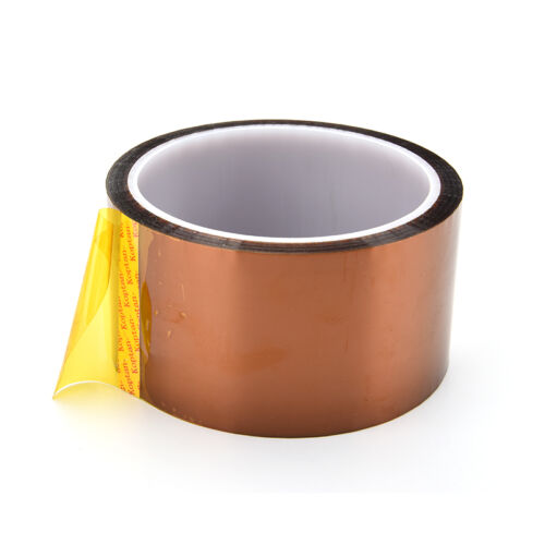 Exquisite 50mm 5cmx30M Kapton Tape High Temperature Heat Resistant Polyimide YJ