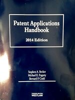 Patent Applications Handbook 2014 By Stephen A. Becker (2014, Paperback) West