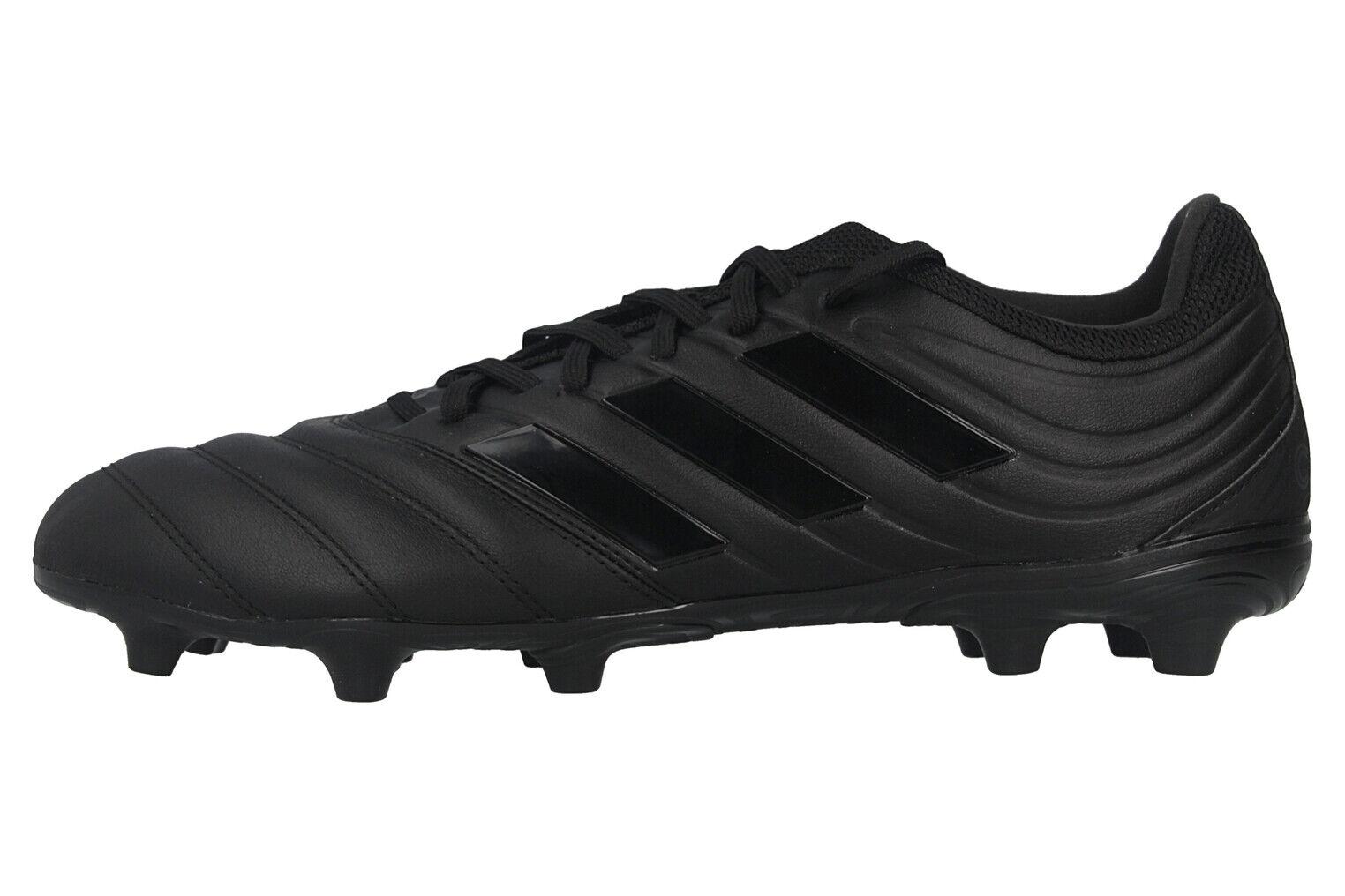 Adidas COPA 20.3 FG Sportschuhe in Übergrößen Schwarz G28550 große Herrenschuhe