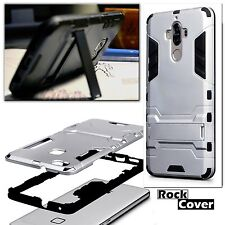 Huawei Mate 9 Rugged Armour Case Multi Tech 2 Survival Rock Cover Stealth Silver