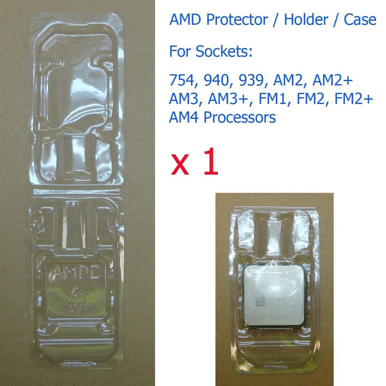 1 x Socket 754 940 939 AM2 AM3 FM1 FM2 AM4 Processor CPU Cover Holder Protector