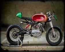 Ducati F3 Radical Ducati 4 A4 Photo Print Motorbike Vintage Aged