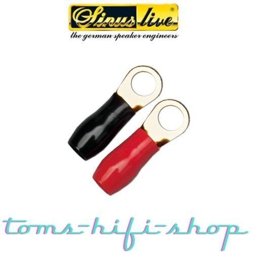 2x Ringkabelschuhe Kabelschuhe Ring 35mm² M12 12mm Loch Ringkabelschuh 35 mm²
