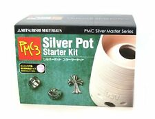 xa0619 Sterling silver clay PMC3 starter kit with manual