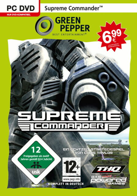 Supreme Commander [Green Pepper] [Wie Neu]  Spiele Windows Software PC