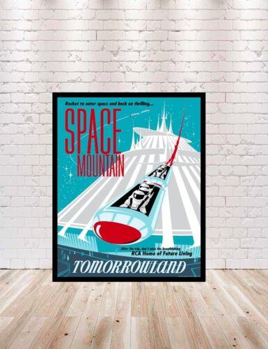 Disney Space Mountain Poster 8x10 Many Sizes 16x20 13x19 18x24 11x14