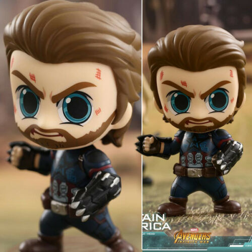 The Avengers 3 Infinity War Captain America Cosbaby PVC Action Figurine 10cm