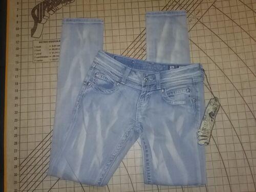 Nvt Jeans 26 vaskede mig piger Kvinder Forspændte Frøken Størrelse 8a4wBvP