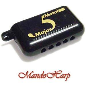 Suzuki-Miniature-Harmonica-MMA-5-Metal-Major-5-hole-10-reed-NEW
